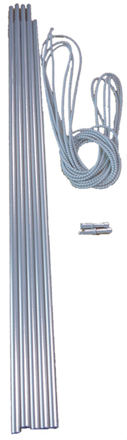 Vango Alloy Pole Sets - 9.5mm Diameter x 55cm lengths