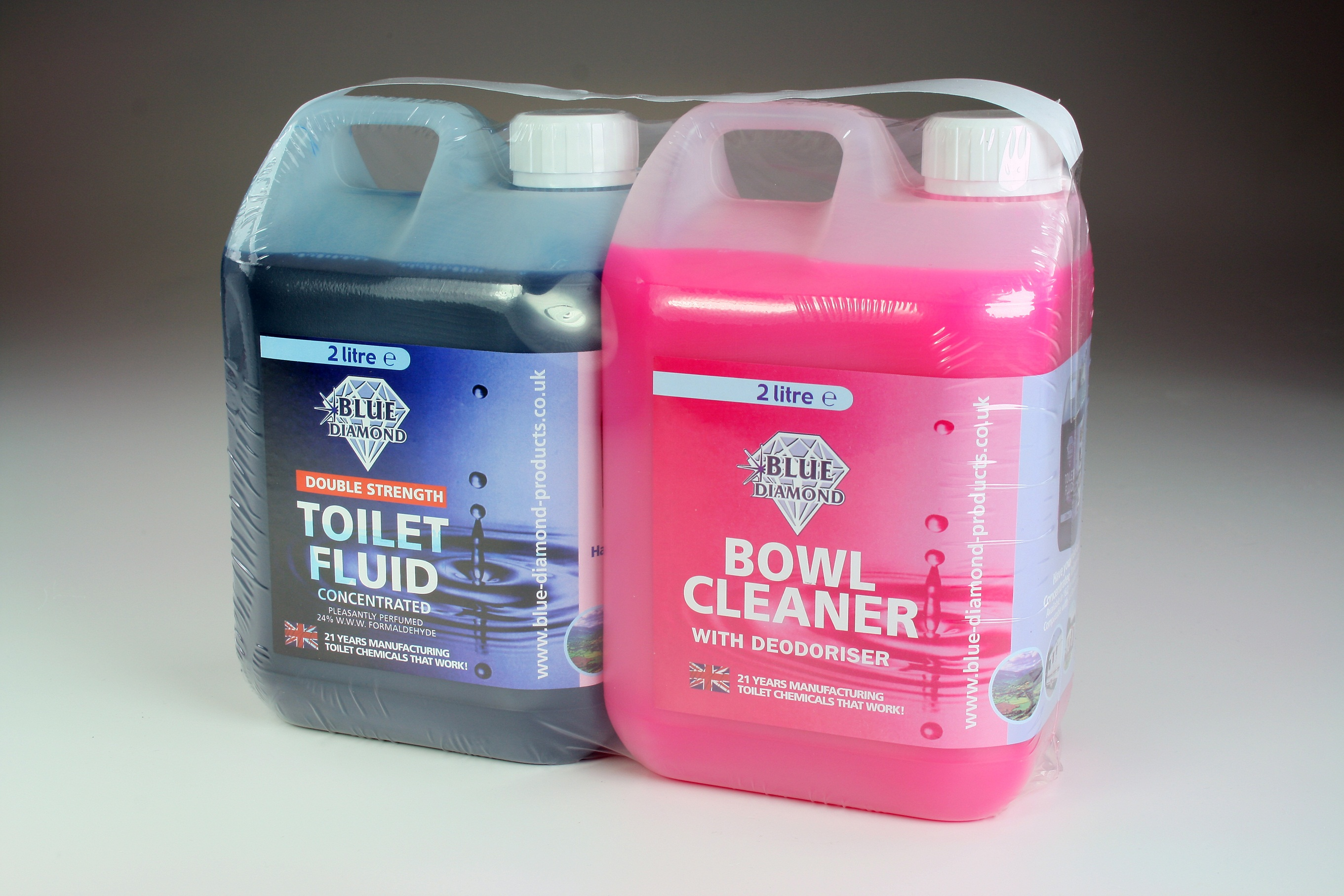 Blue Diamond Toilet Chemical Twin Pack