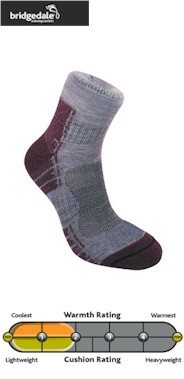 Bridgedale Endurance Trail Light Women's Walking Socks