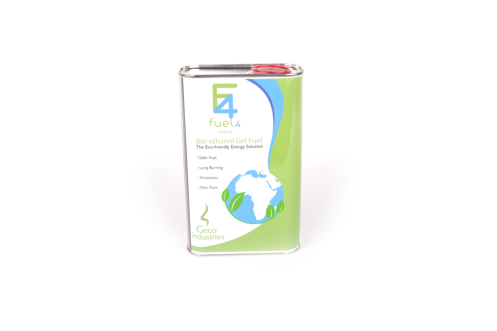 Fuel4 Bio-Ethanol Fuel Gel - 1 Litre Tin