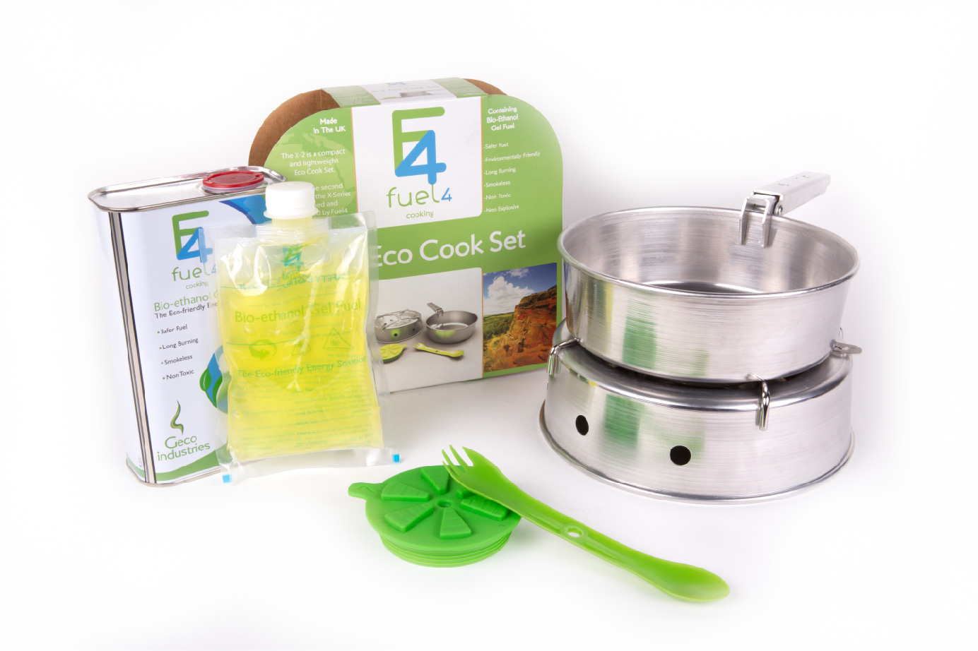 Fuel4 X-2 Eco Cook Kit