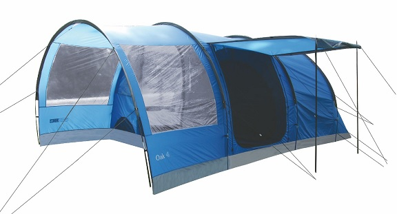 Highlander Oak 4 Family Tunnel Tent