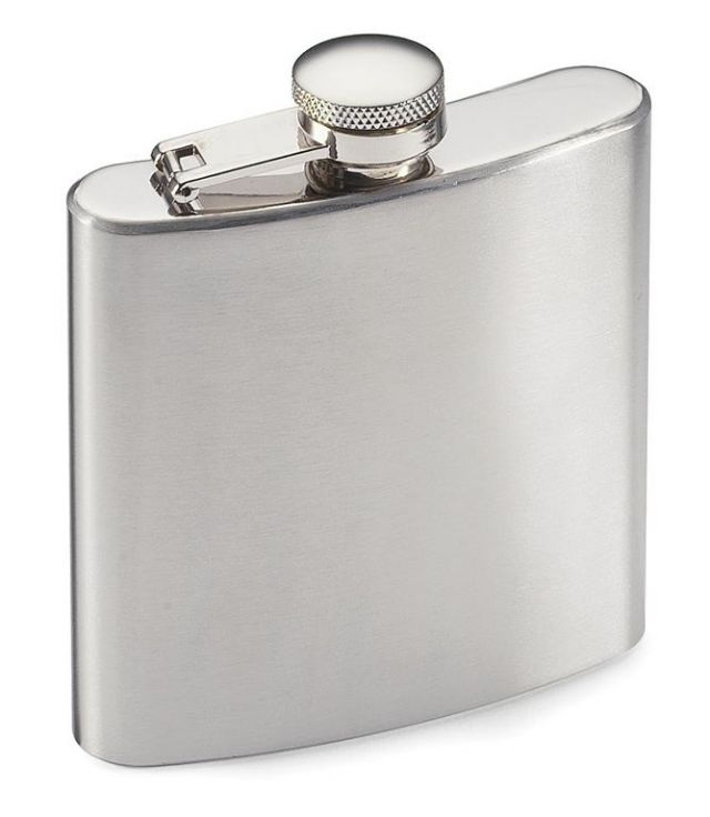 Highlander 170ml Stainless Steel Hip Flask