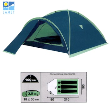 Jamet Gavarnie 4000 Mountain Tent