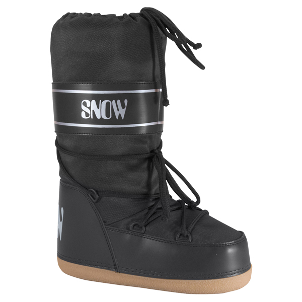 Igloo Kid's Moon Boots - Black