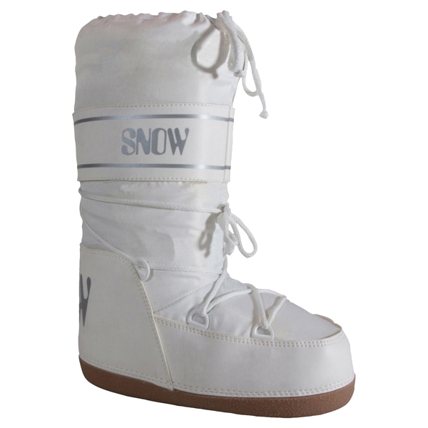 Igloo Girl's Moon Boots - White