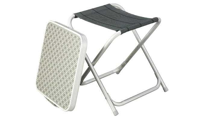 Outwell Baffin Stool and Table Combo - Titanium
