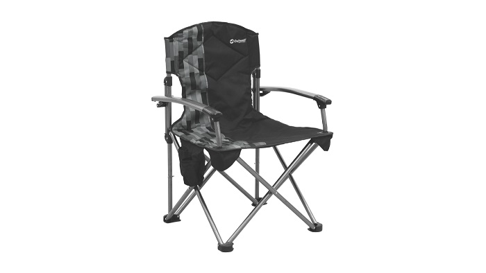 Outwell Fountain Hills Camp Chair - Black