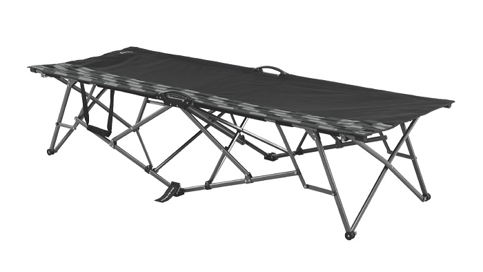 Outwell Waldo Hills Camp Bed - Black