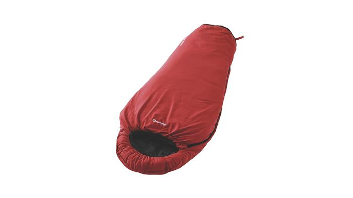 Outwell Convertible Junior Sleeping Bag - Red