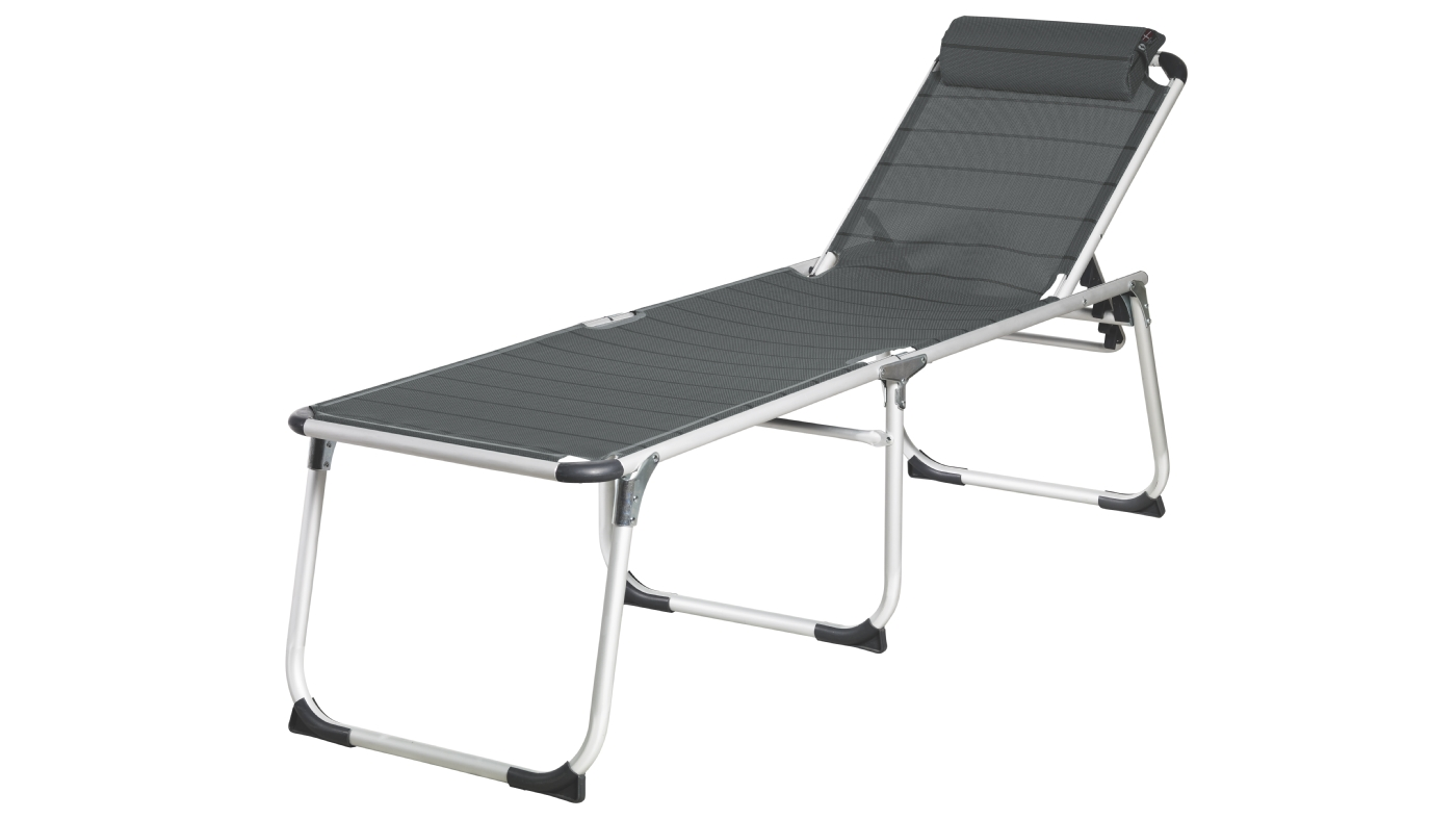 Outwell Montreal Reclining Bed - Titanium
