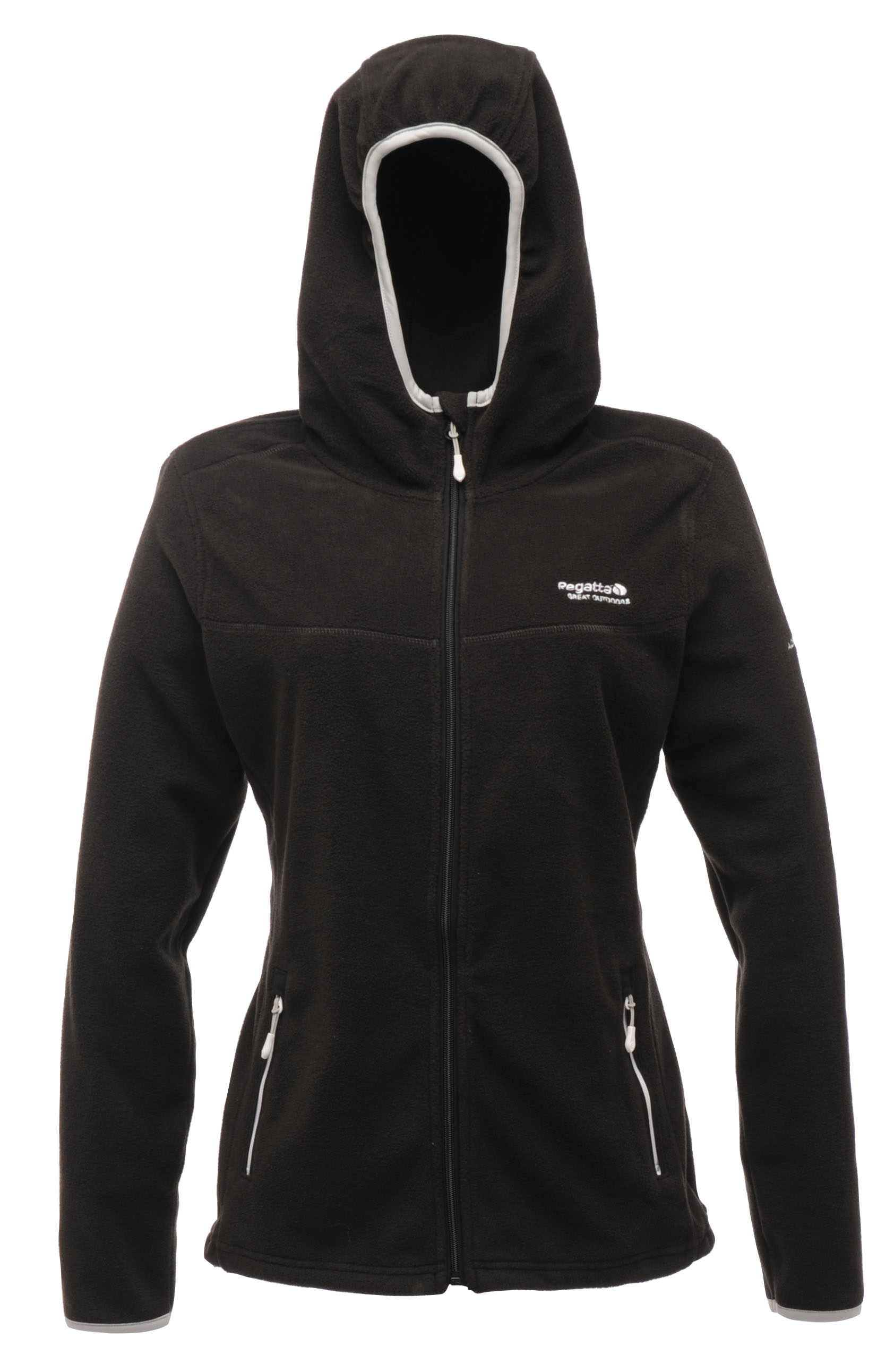 Regatta Serianna Women's Fleece Hoodie - Black