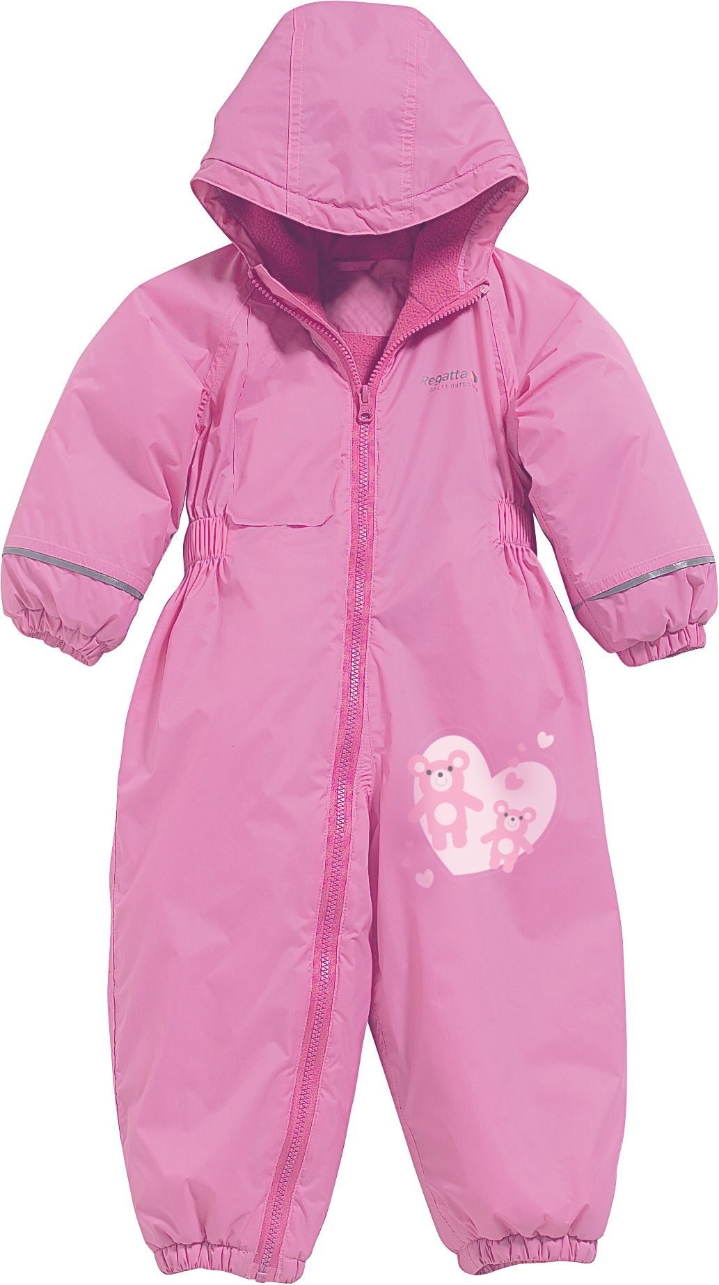 Regatta Splosh Toddler's Insulated Suit - Lipstick