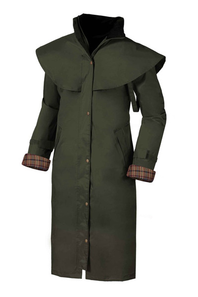 Target Dry Outback Women's Waterproof Coat - Olive Green