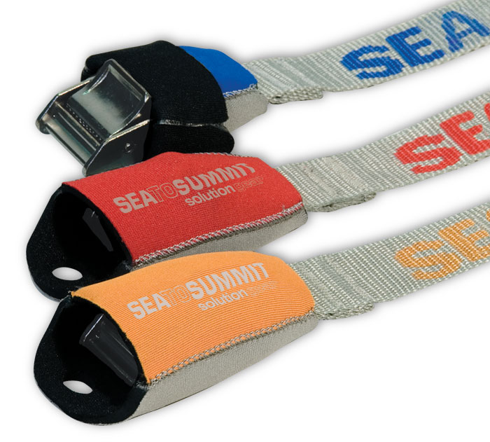 Sea to Summit Tie Down Straps with Neoprene Cam Covers – 3.5m