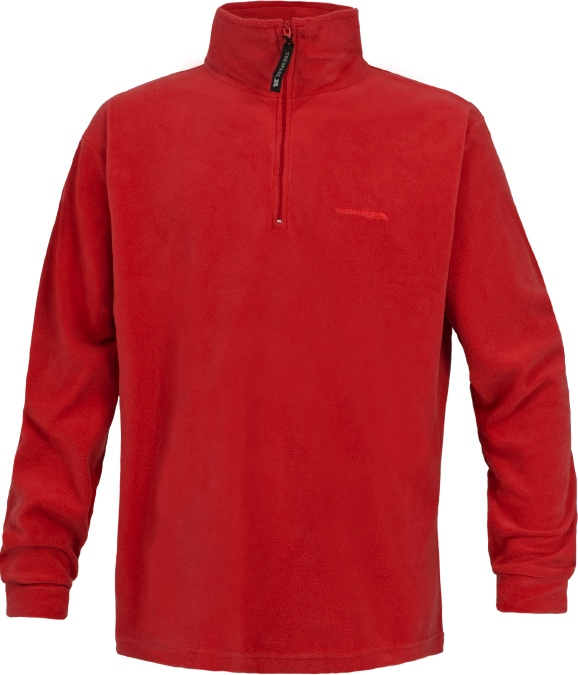 Trespass Lap Men's Ski Microfleece - Red