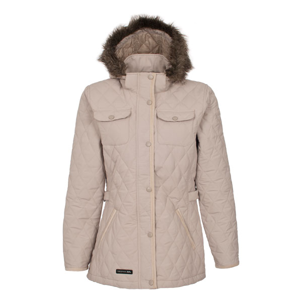 Trespass Purdey Women's Quilted Jacket - Mushroom
