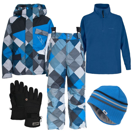 Trespass Charger Boy's Ski Wear Package