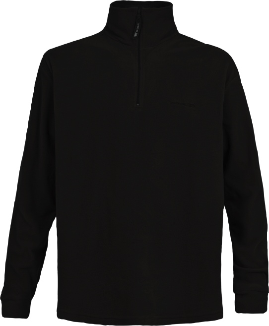 Trespass Lap Men's Ski Microfleece - Black