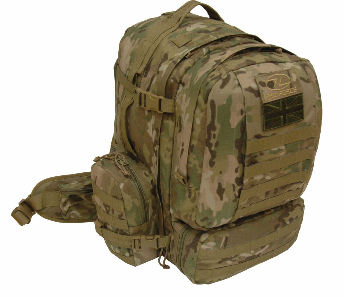 Pro-Force Tomahawk Elite SF Multicam 45 Litre Rucksack