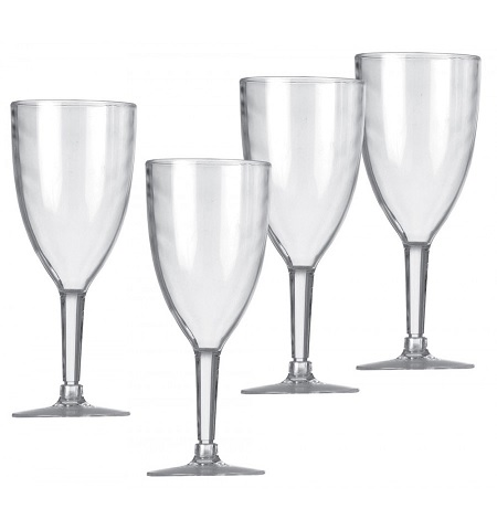 Vango Acrylic Wine Glass Set