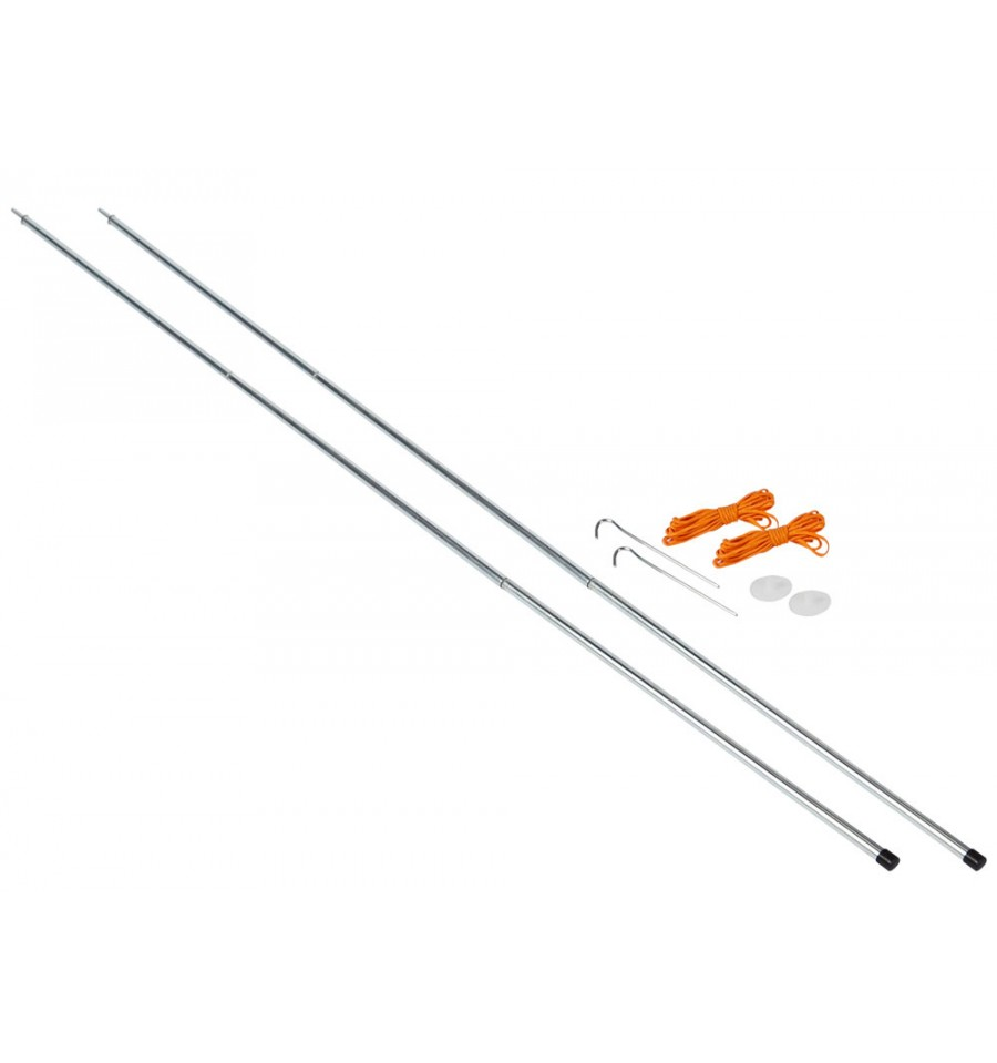 Vango Upright Steel King Poles - 210cm