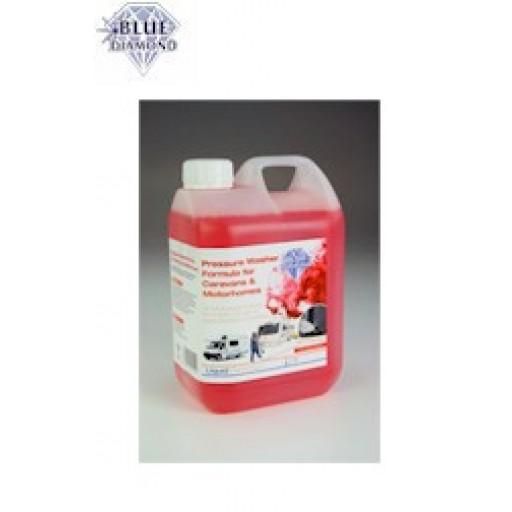 Blue Diamond Pressure Washer Formula (2 Litres)