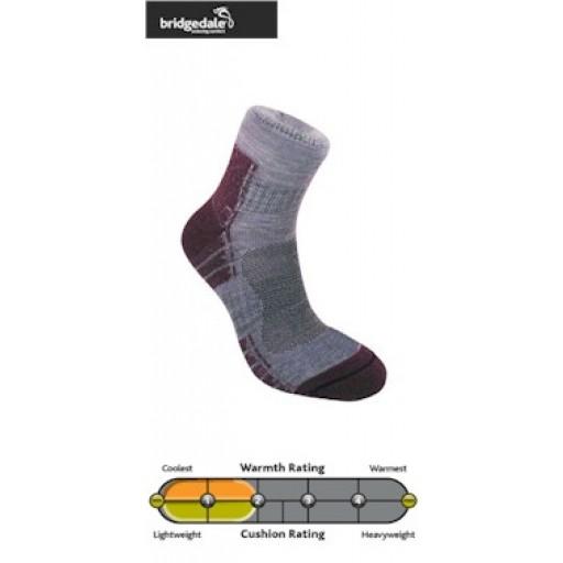 Bridgedale Endurance Trail Light Women's Walking Socks