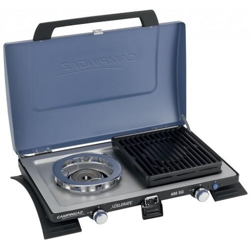 Campingaz 400 SG Double Burner & Grill