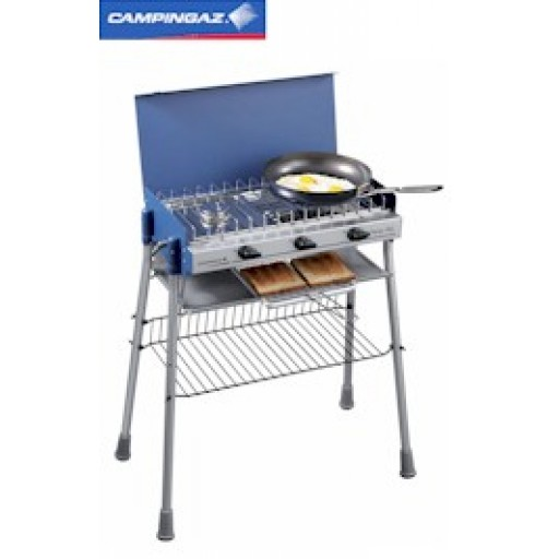 Campingaz Camping Chef Plus Camping Stove on Stand