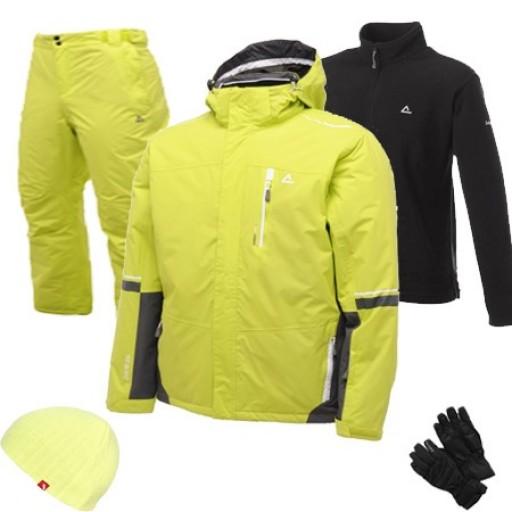 Dare2b Inspiration Men's Ski Wear Package - Lime Punch