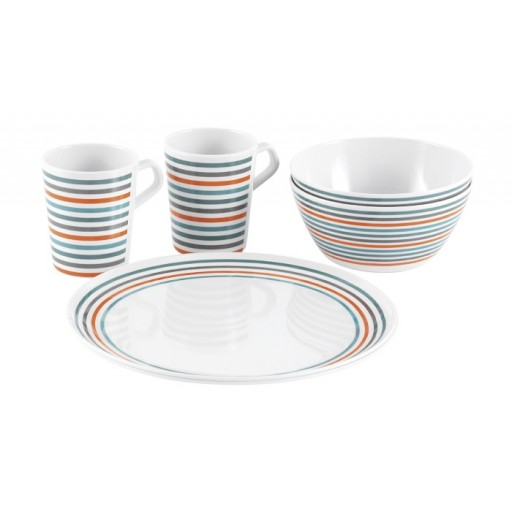 Easy Camp 2-Person Melamine Dish Set