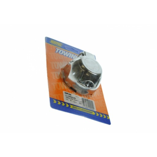 Maypole 7pin 12N Aluminium Socket DP