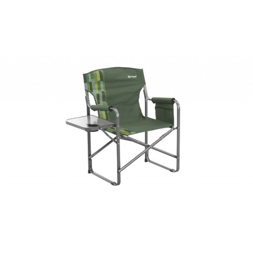 Outwell Bredon Hills Directors Chair with Side Table - Green