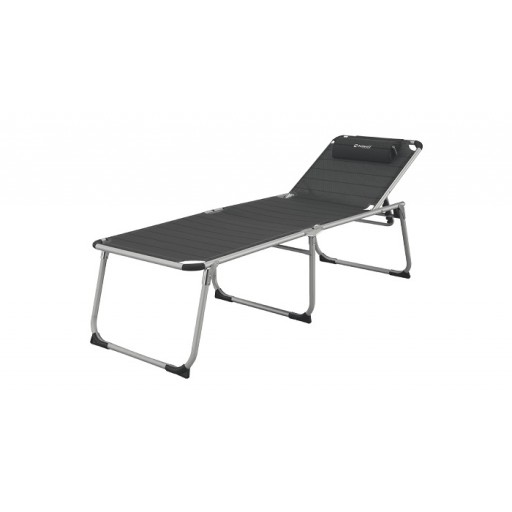 Outwell Newfoundland XL Reclining Bed - Titanium
