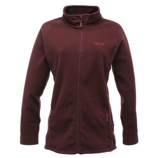 Regatta Cathie Women's Fleece Jacket - Burgundy