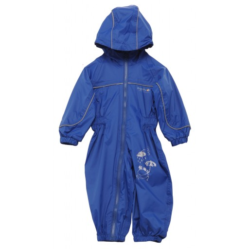 Regatta Puddle II Toddler's Waterproof Suit - Laser Blue