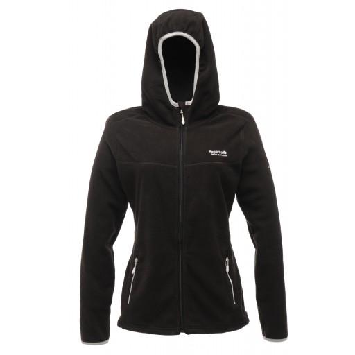 Regatta Serianna Women's Fleece Hoodie - Black