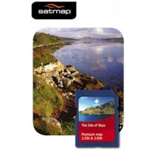 Satmap Isle of Skye 1:25k & 1:50k Map Card