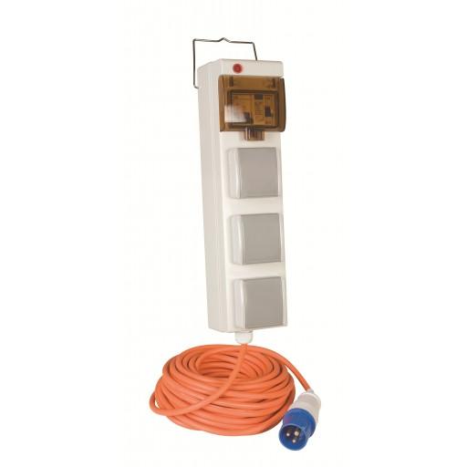 Kampa Mobile Mains Supply Unit (3 plug)