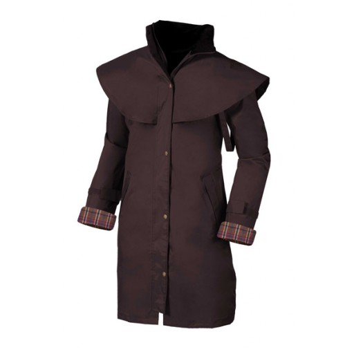 Target Dry Outrider 3/4 Women's Waterproof Coat - Coffee Bean