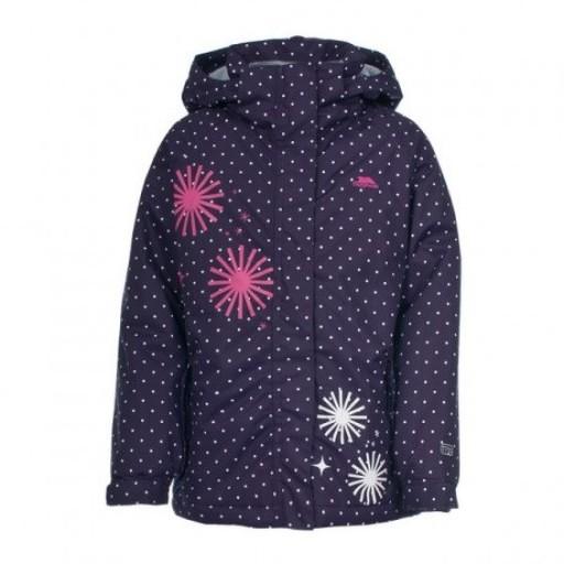 Trespass Candy Pop Girl's Ski Jacket - Wildberry