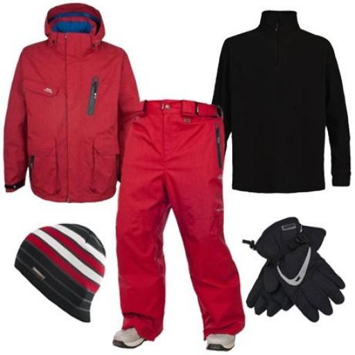 Trespass Deckers Men's Ski & Snowboard Package