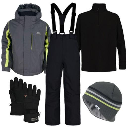 Trespass Etch Boy's Ski Wear Package