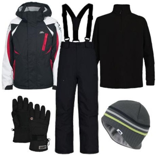 Trespass Hollywood Boy's Ski Wear Package