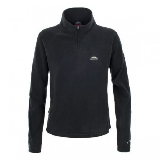 Trespass Shiner Women's Ski Microfleece - Black