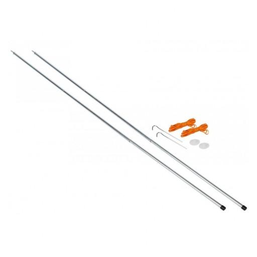 Vango Upright Steel King Poles - 180cm