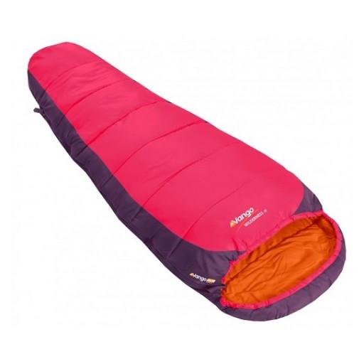 Vango Wilderness Junior Sleeping Bag - Raspberry
