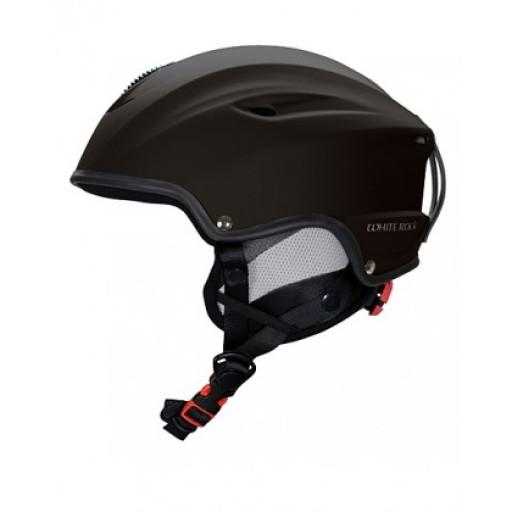 White Rock Vulcan Ski Helmet - Matt Black