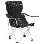 Vango Brodick Hi-Back Arm Chair - Black